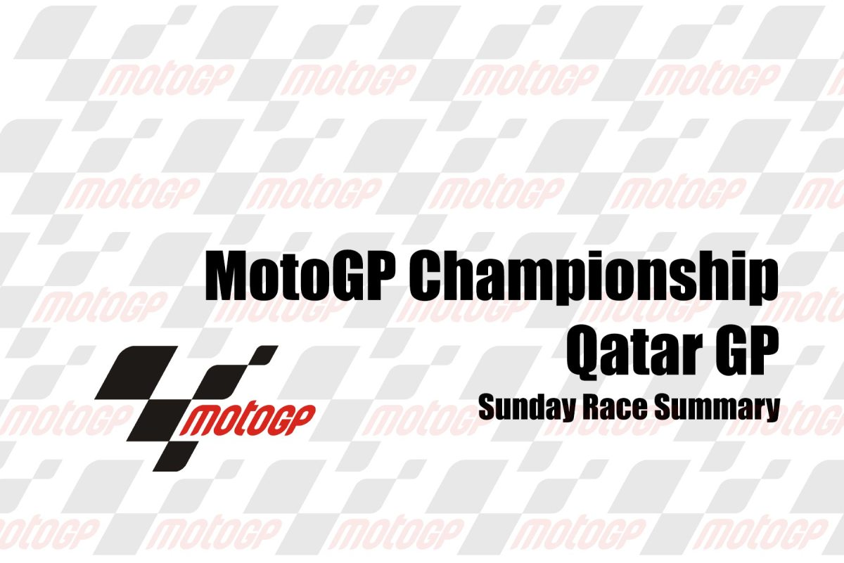 Sunday's MotoGP Summary from the Qatar GP